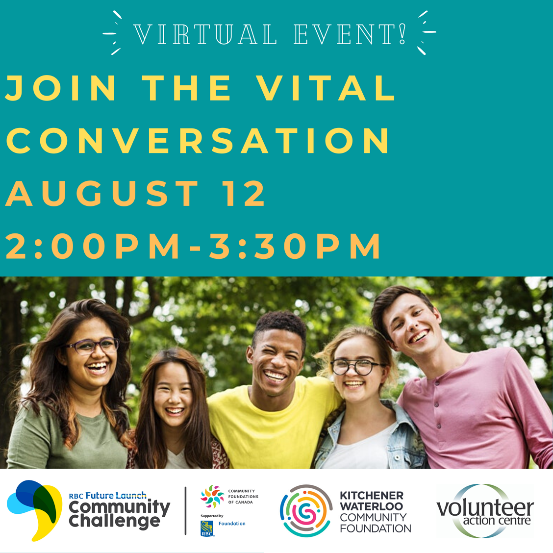 Join the Vital Conversation August 12 2-330pm