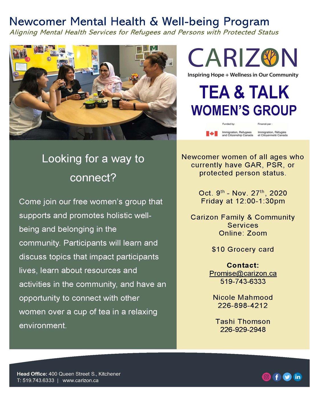 Tea & Talk fall 2020