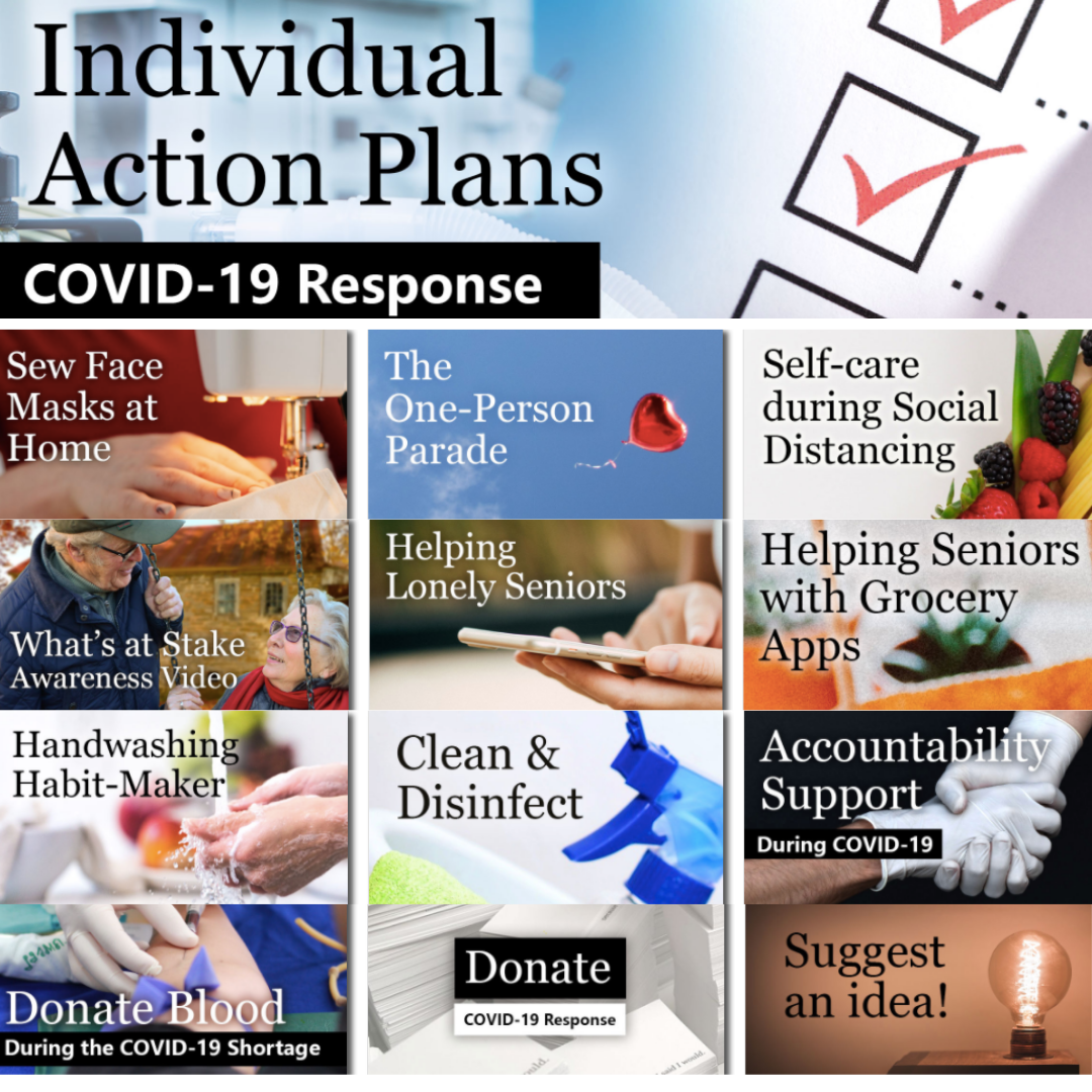 covid individual action plans