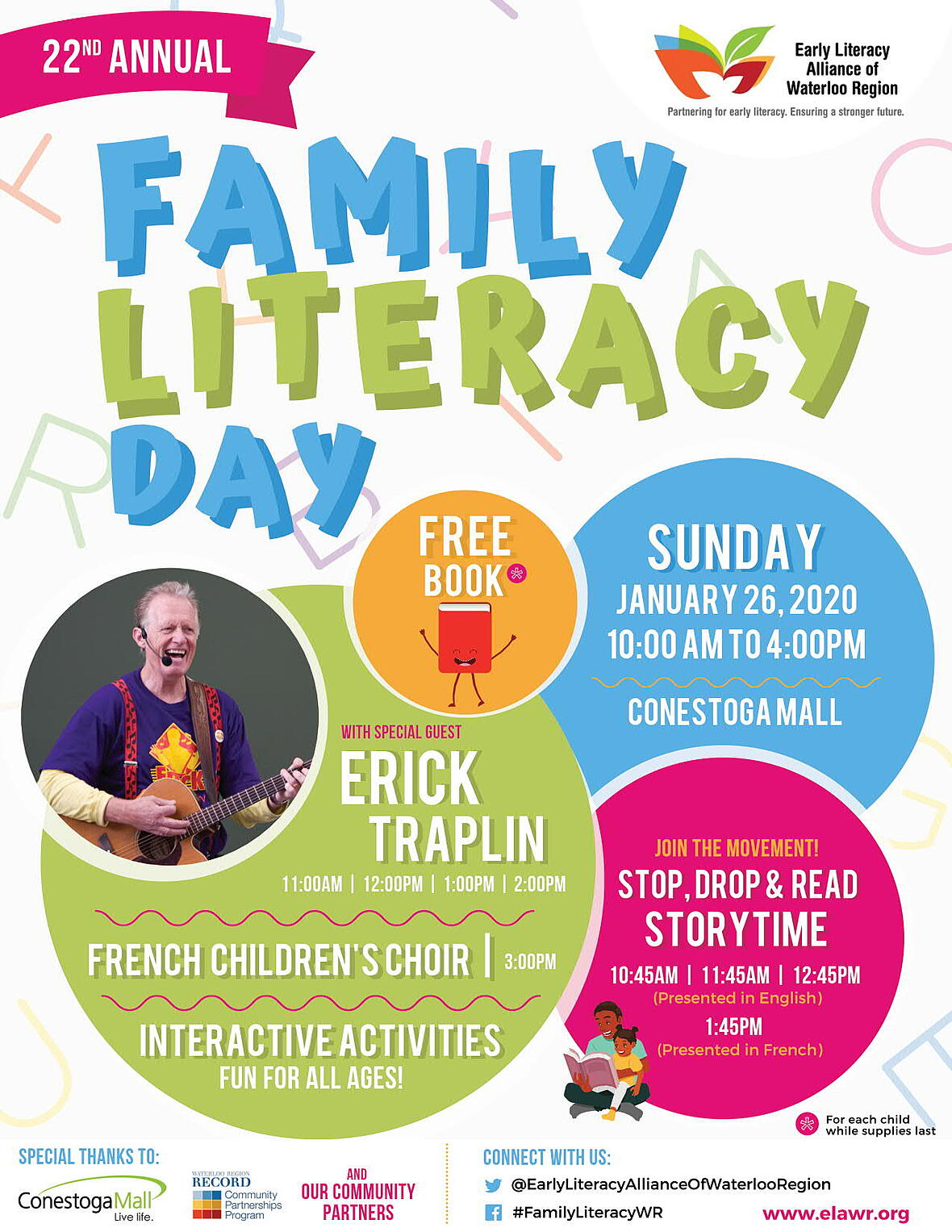 family literacy day 2020 poster