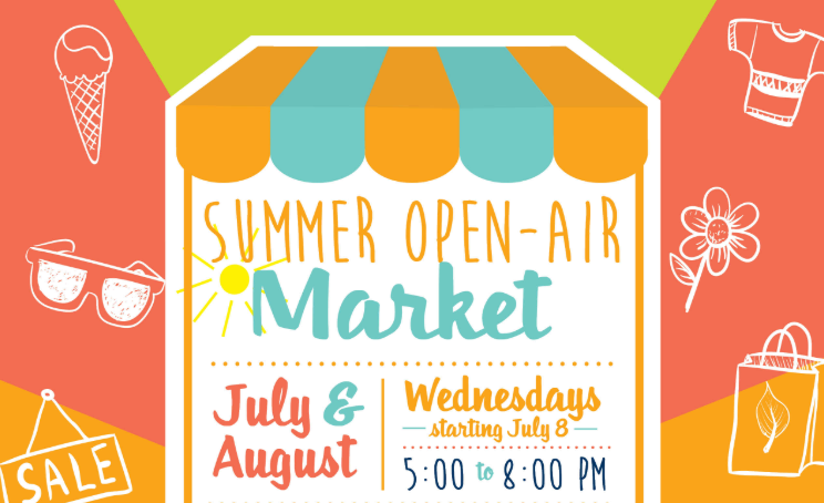 Summer Open-Air Market Poster